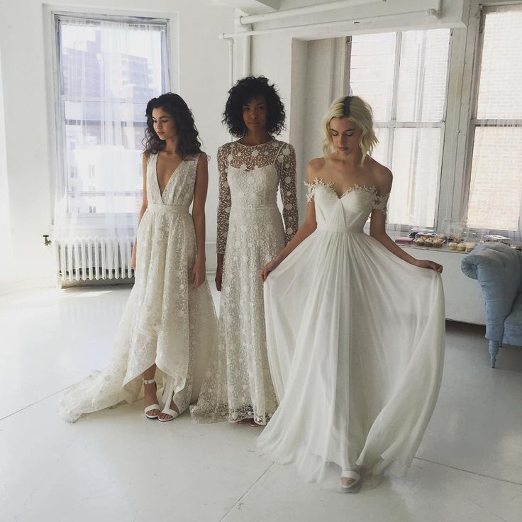 New York Bridal Fashion Week Show Fall 2016 Collection Designer Gown Catwalk