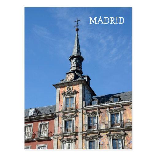 Plaza Mayor, Madrid Postcard