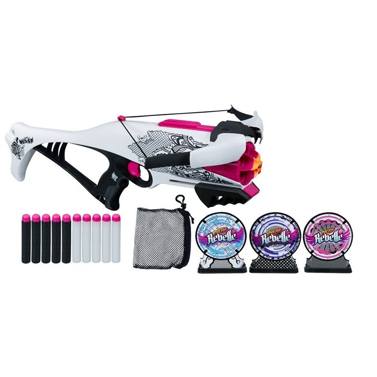 nerf rebelle | Nerf Rebelle Guardian Crossbow Target Set image-0