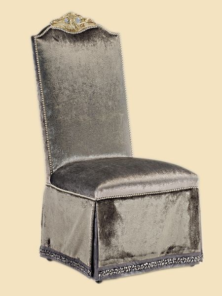 Marge Carson Piazza San Marco Side Chair Discount Furniture At Hickory Park  Furniture Galleries