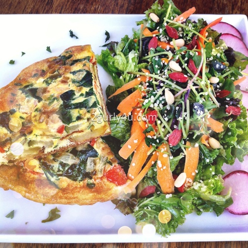 Healthy Organic Potato and Vegetable Frittata #healthy #organic # ...