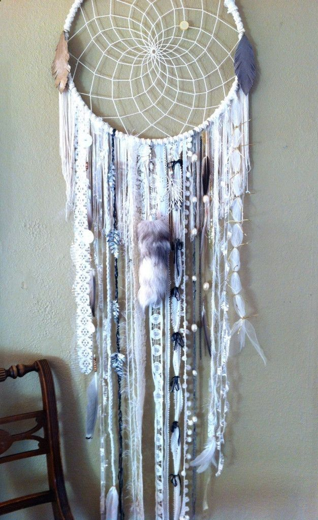 How to Make a Dream-catcher Tutorial and Beautiful DIY Dream-catcher Inspiration Pack for Beginners - indoorlyfe.com