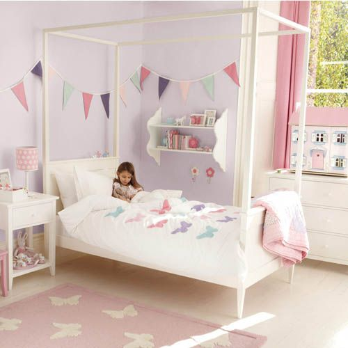 A dreamy bed for a princess-to-be. This is a fairytale bed for any little girl in your kingdom exclusive to the land of GLTC.