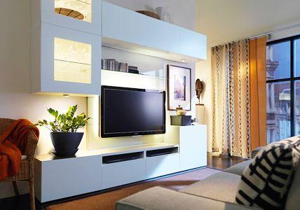 wohnwand 15 moderne systeme house pinterest wohnzimmer wohnen und ikea. Black Bedroom Furniture Sets. Home Design Ideas