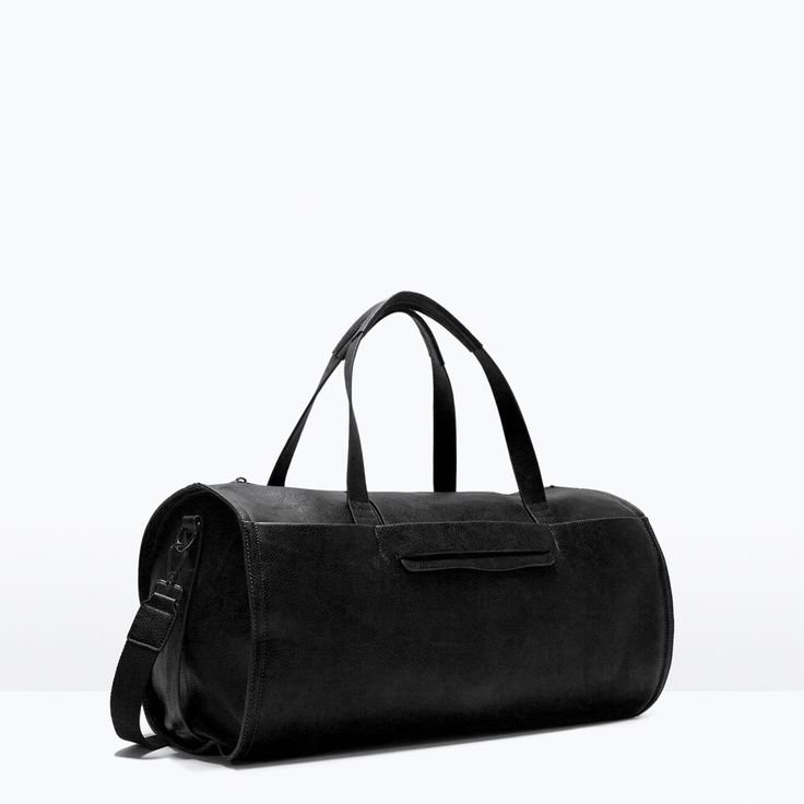 Image 2 of BOWLING BAG WITH FLAP from Zara