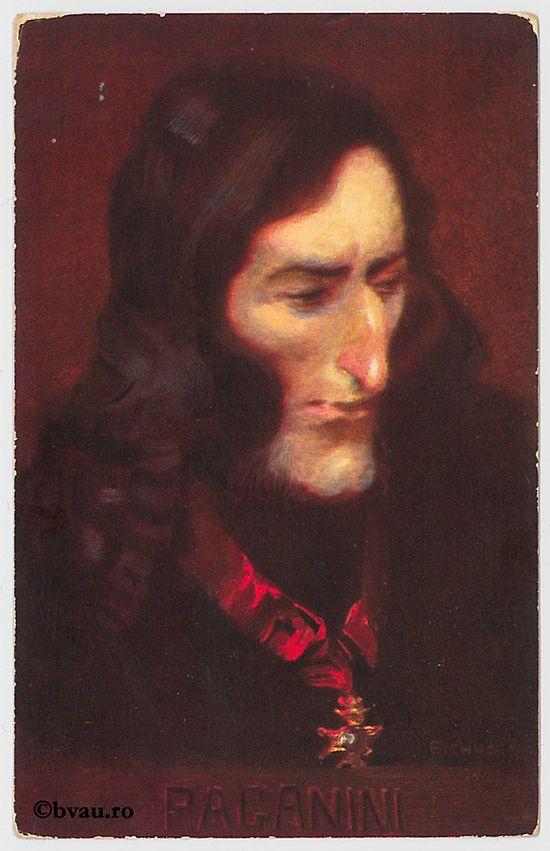 "Nicolo Paganini. Imagine din colecțiile Bibliotecii ""V.A. Urechia"" Galați."
