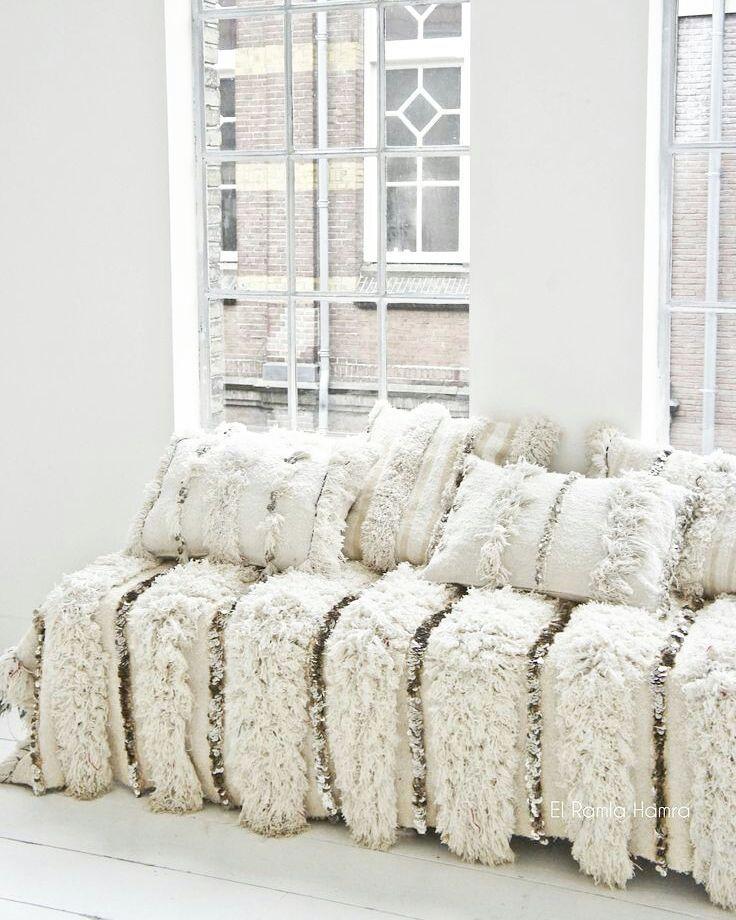 This gorgeous  handira blanket is traveling to San Diego.  #moroccan #handira #weddingblanket #bohochic #elledecor #jungalowstyle #parischic #newyorkstyle #bohemian #ibiza #whiteinterior #ibizastyle #scandicinterior #123whites #witwonen #sandiego #wedding #moroccanblanket #vtwonen #whiteinterior #relax #elramlahamra by elramlahamranl