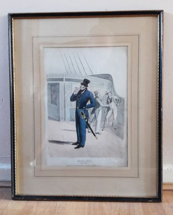 Original Rare Large Framed and Mounted Antique Hand by RAVERETRO
