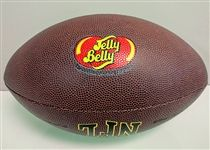 Football with UV direct-printed logo - printed with LogoJET UVx60-XL direct to substrate printer.