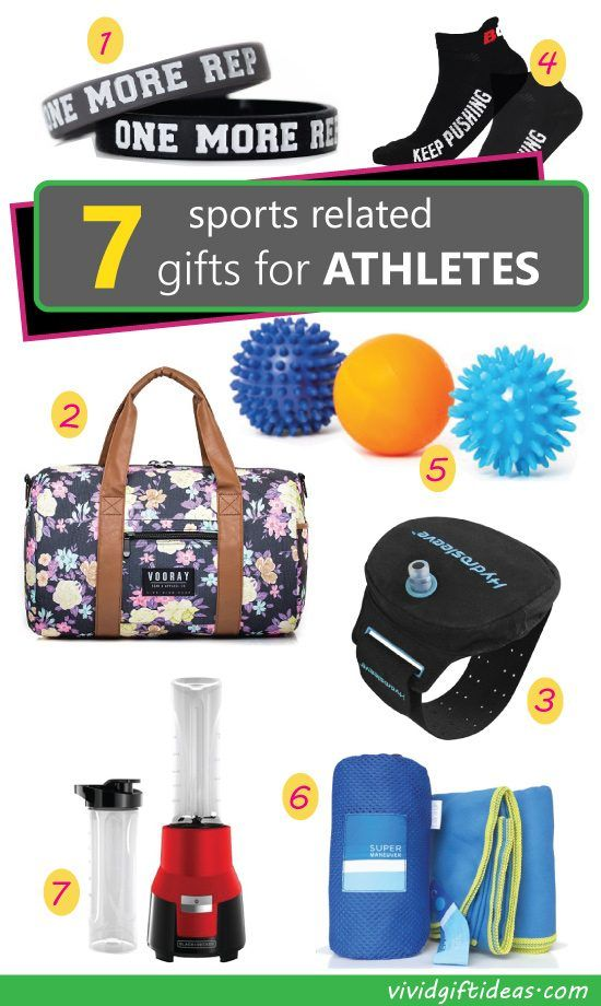 Gifts for athletes guys and girls. Sports ideas. Fitness gifts.  sc 1 st  Pinterest & 7 Sports Related Gift Ideas for Athletes | Christmas | Fitness gifts ...