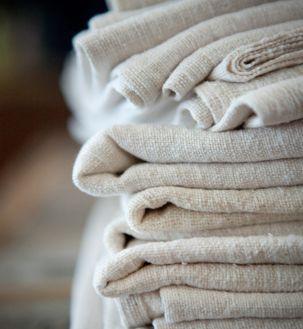 vintage hemp linen napkins