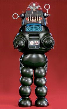 Robby the robot from the '50's classic, Forbidden Planet.