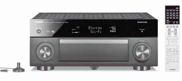 The Best Home Theater Receivers Priced from $400 to $1,299.: Yamaha AVENTAGE RX-A1040 Network Home Theater Receiver