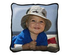 Custom Woven Pillow with Your Full-Color Photo