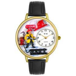 Firefighter Watch in Gold (Large)