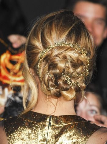 Jennifer LawrenceHair Ideas, Braids Hairstyles, The Hunger Games, Games First, Prom Hair, Beautiful, Lawrence Hair, Jenniferlawrence, Jennifer Lawrence