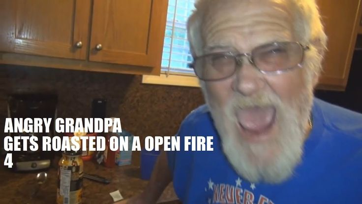 YTP: Angry Grandpa Gets Roasted on a Open Fire 4
