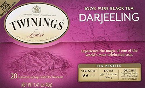 Twinings Darjeeling Tea, Tea Bags, 20 Count (Pack of 2) >>> Insider's special review you can't miss. Read more  : Fresh Groceries