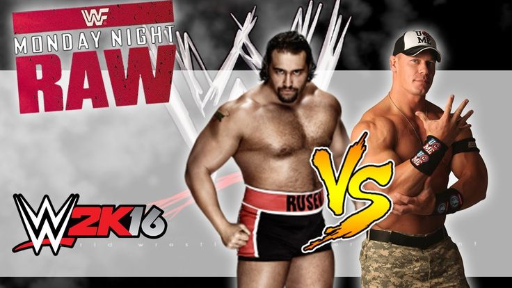 Monday Night Raw|Main Event Simulation|Alexander Rusev vs John Cena|WWE ...