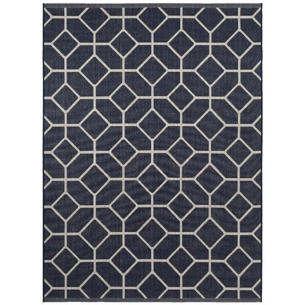 Shop Balta Group Balta 30324263-8X10 8-ft x 10-ft Navy Geometric Outdoor Rug  at Lowe's Canada. Find our selection of outdoor rugs at the lowest price guaranteed with price match + 10% off.