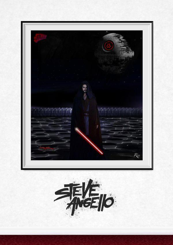 SHM Legend, Heroes and DJs by Riccardo Ferro, via Behance