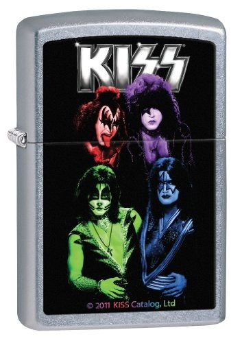Kiss Zippo Lighter from Picsity.com