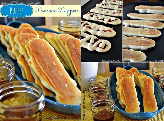 Bacon Pancakes...now this is something different.