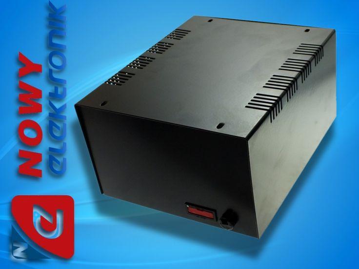 Obudowa metalowa T59 CZARNA bezpiecz.190x160x100mm (5946413360) - Allegro.pl - Więcej niż aukcje.