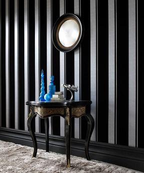 Graham & Brown Flock Star Stripe Wallpaper | 2Modern Furniture & Lighting