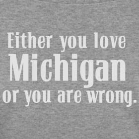 Michigan or Wrong Shirt