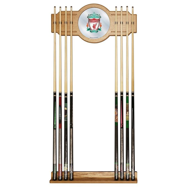 Liverpool FC Cue Rack with Mirror, Red