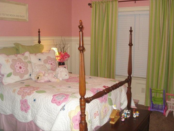 Beautiful child\u0027s bedroom with wainscoating - Walraven Residence