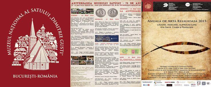 """Muzeul National al Satului """"Dimitrie Gusti"""" la 79 de ani. 18/05/2015. Muzeul Naţional al Satului """"Dimitrie Gusti"""" a aniversat in ziua de 17 Mai 2015 cei 79 de ani de existenţă, fiind inaugurat de regele Carol al II-lea in 1936, deschis de Rege pe 10 Mai(ziua nationala a ROMANIEI la acea dată), iar pentru public pe 17 Mai. Cu această ocazie, au loc o serie de activităţi în perioada 15 -18 Mai 2015, menite să cinstească acest moment important din istoria muzeului."""
