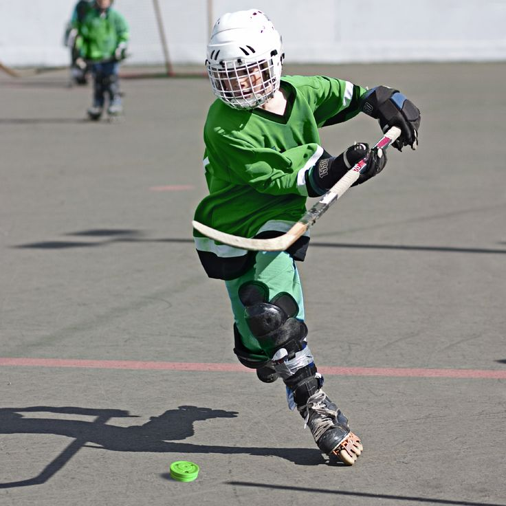 The Green Biscuit Off Ice Training Hockey Puck