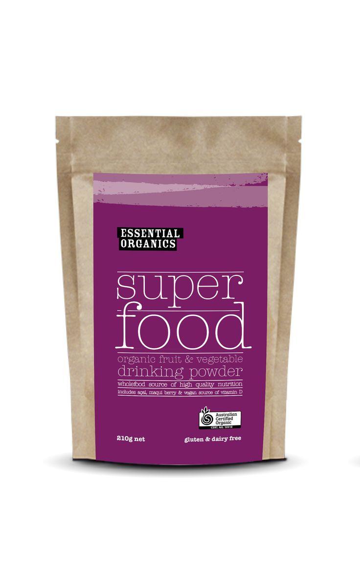 NEW!   EO superfood powder!   100% RDI Vitamin D, vegan, ricj in antioxidants and phytonutrients