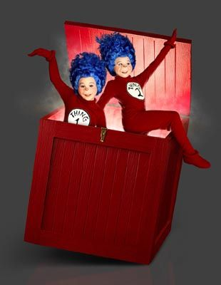 wood boxes thing 1 and dr seuss costumes on pinterest