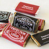 Personalized Birthday Hershey's Miniatures