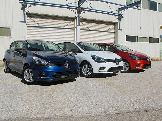 Εργασία και χαρά με το νέο Renault Clio Business