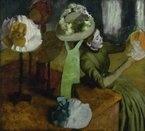 e.Degas. chez la modiste.  Musée d'Orsay, Paris.