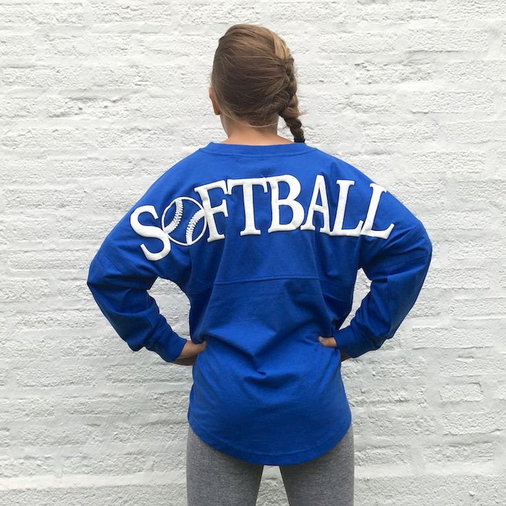 SOFTBALL GRAPHIC Football Jersey Pullover