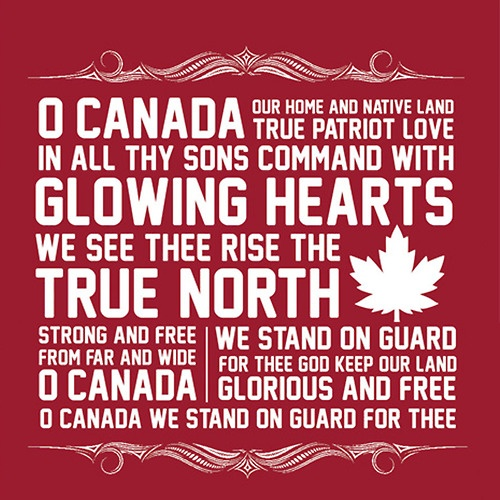 oh canada. this design is beautiful: www.roots.ca