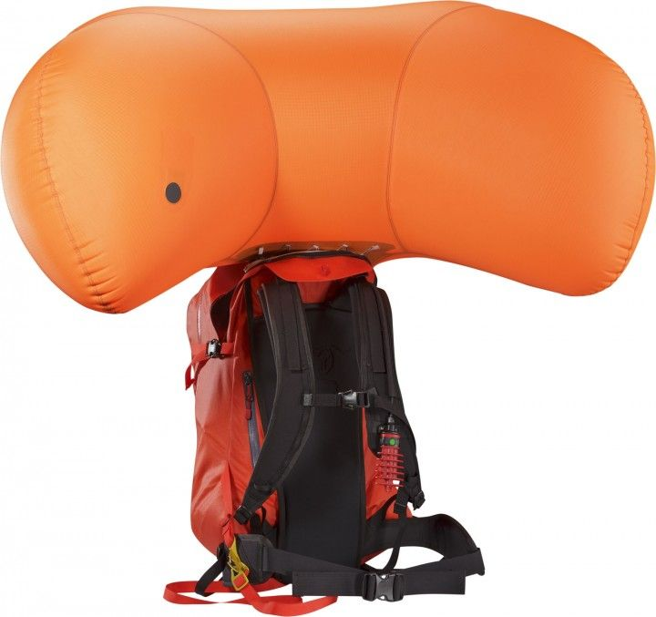 Arcteryx Voltai -30 avalanche air bag. Learn more: http://bit.ly/1PoryWc