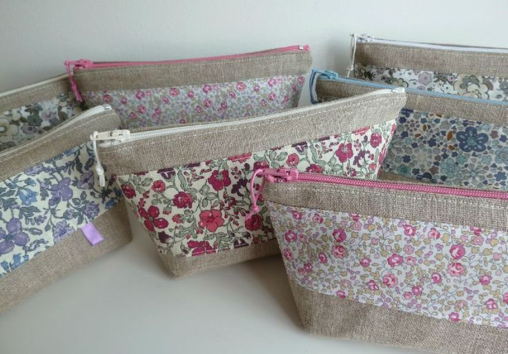 Collection lin et liberty- trousse