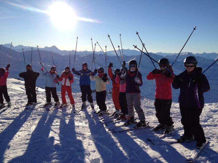 Ski stags!