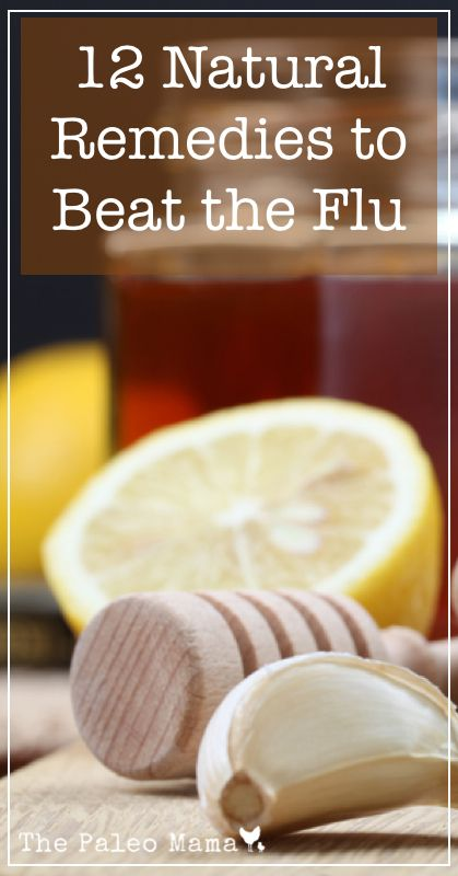 12 natural flu remedies