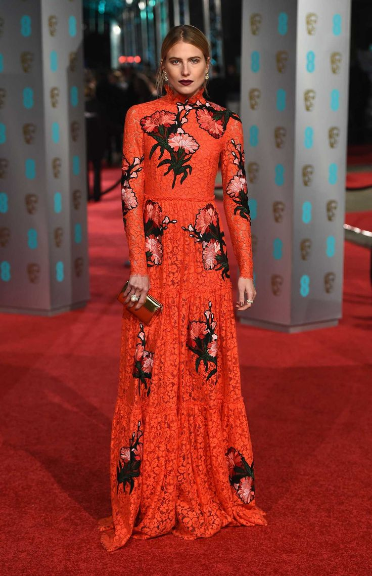 Dree Hemingway in Erdem. Photo: Ian Gavan/Getty Images.