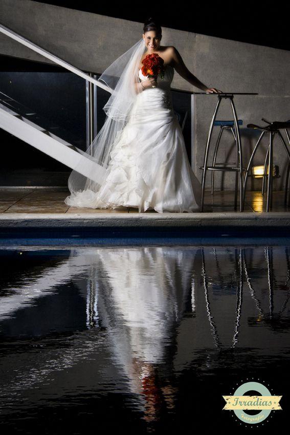Sesión fotográfica de Mariana antes de la boda con Irradias Fotografía
