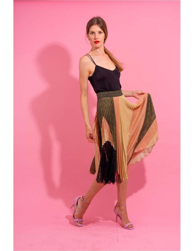 Midi skirt | Casual formal dresses, Shirt dress style