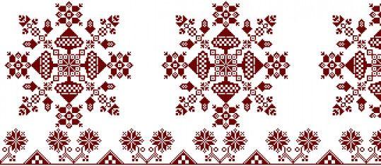 NM 51.14.1543 Lepedővég mintája Készítés ideje: XIX. század Készítés helye: Erdély