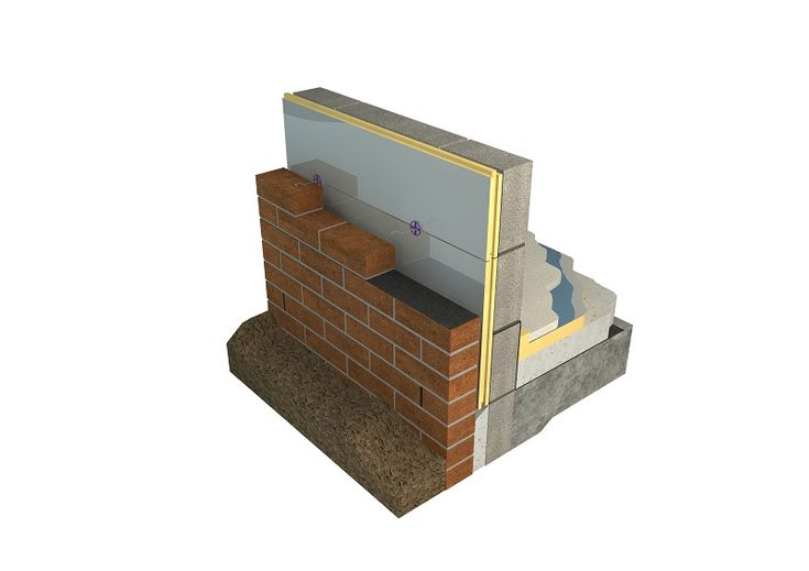 1000 ideas about cavity insulation on pinterest steel frame house steel frame and masonry veneer - Double brick cavity walls ...